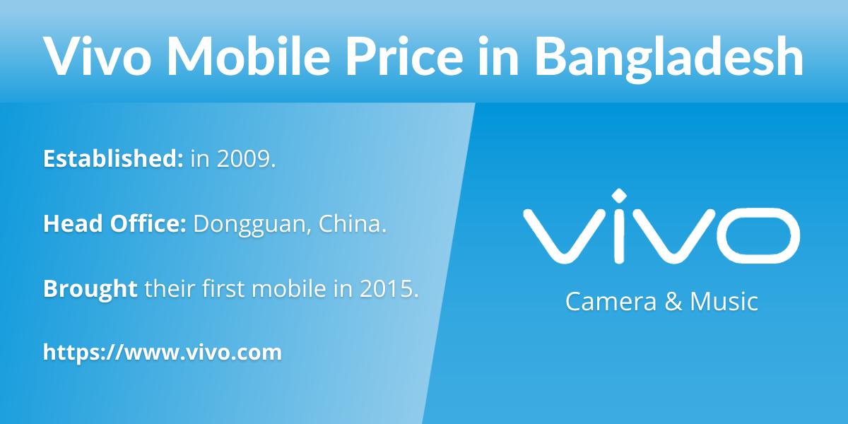 Vivo Mobile Price in Bangladesh