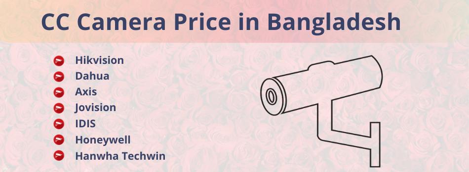 CC Camera Price in Bangladesh