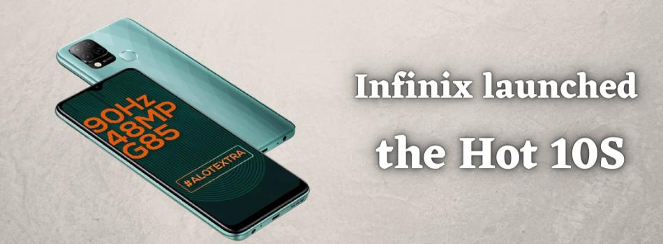 Infinix Hot 10S price in Bangladesh