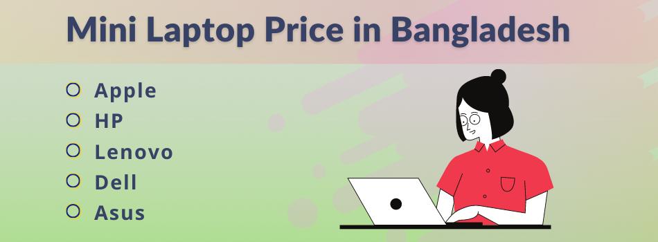 Mini Laptop Price in Bangladesh