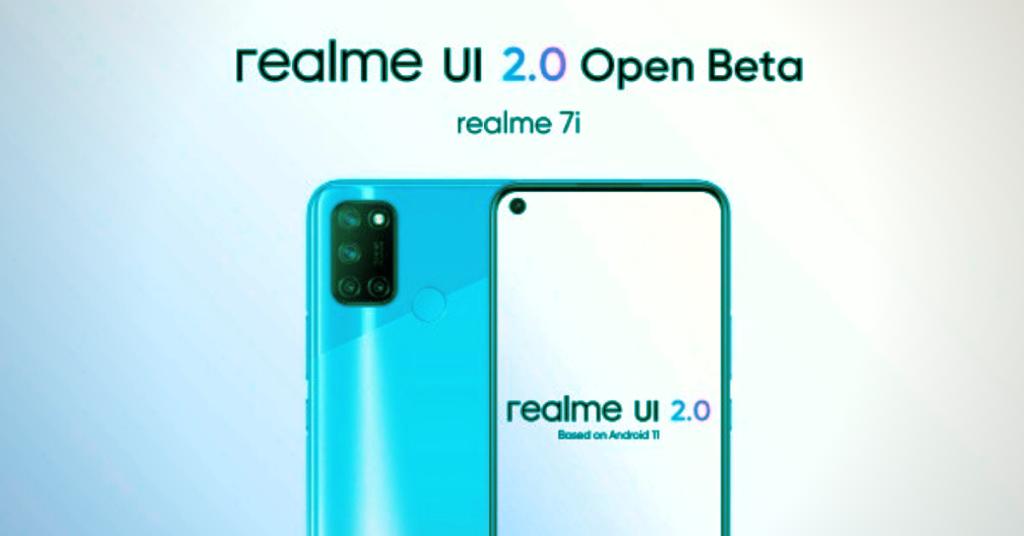 Realme 7i gets Open Beta