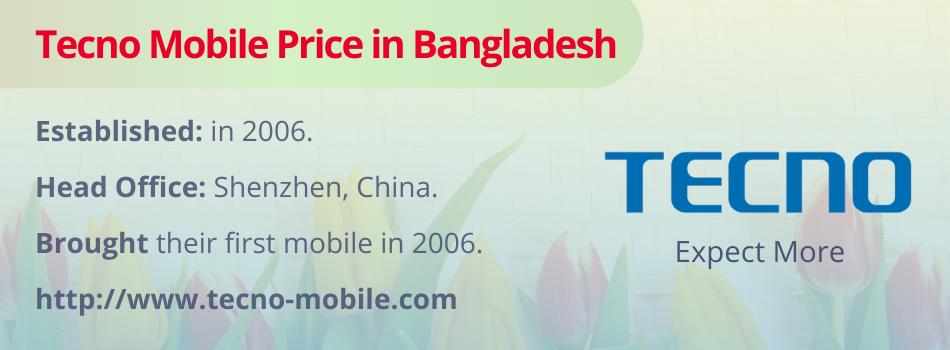 Tecno Mobile Price in Bangladesh